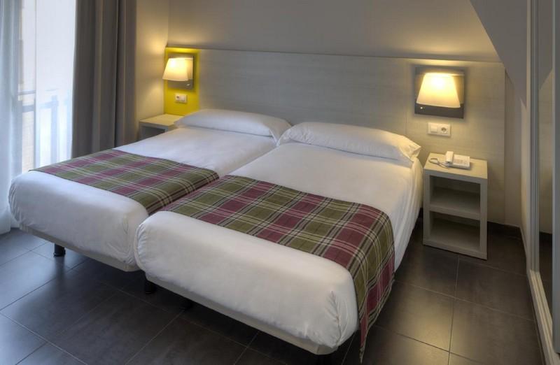 Dubbelsäng Hotel Cristina